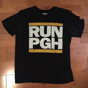 RUN Pittsburgh PGH shirt